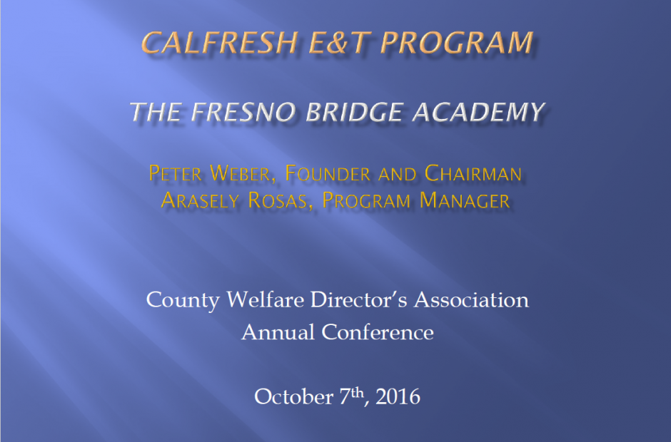 Fresno Bridge Academy