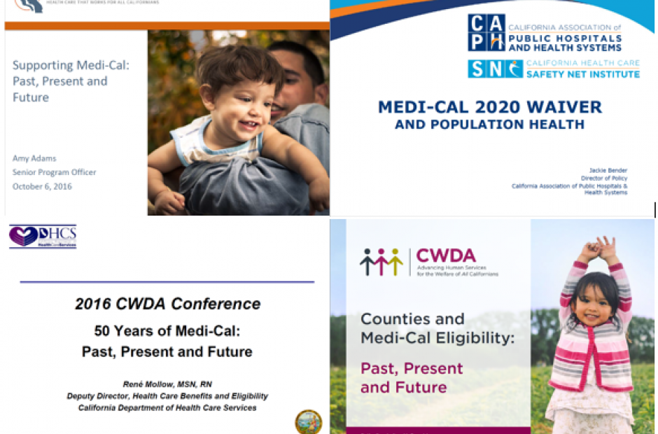 Medi-Cal Past, Present and Future